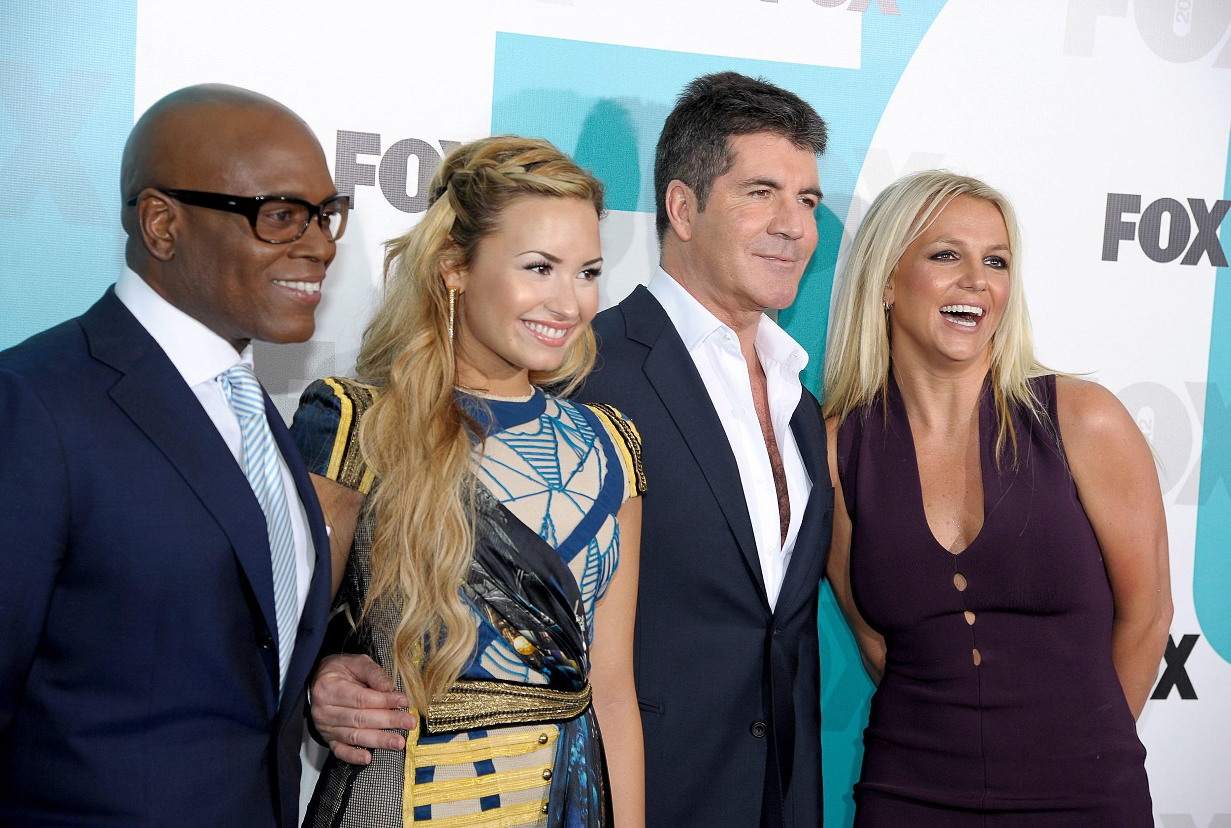 X Factor Judges 2012 Will Britney Sp...